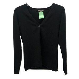 Garnet Hill Cashmere Button-Down, Size XS
